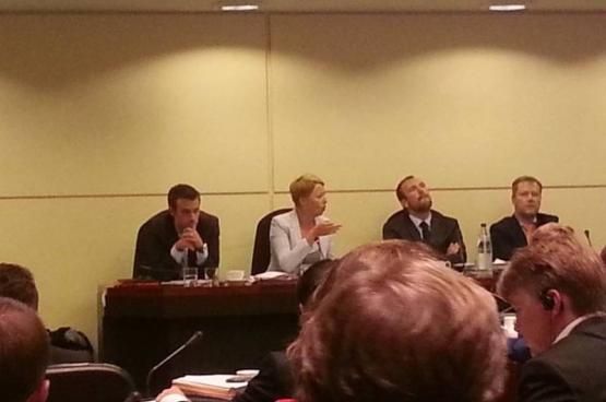 Live uit de bijzondere commissie voor de garantie van de stroomtoevoer in België deze winter. (Foto Solidair)