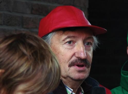 Luk Vandenhoeck (ACOD VRT). (Foto Solidair, han Soete)