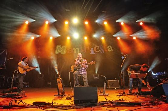 De Waalse bluesman zette op 19 september de Main Stage van ManiFiesta in vuur en vlam. (Foto Solidair, Salim Hellalet)