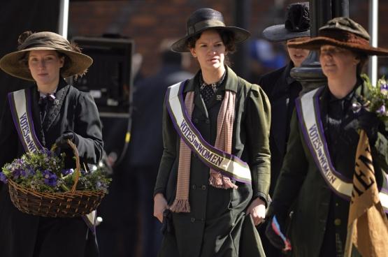 De film Suffragette vertelt over de strijd voor stemrecht voor vrouwen in het Groot-Brittannië van begin deze eeuw.
