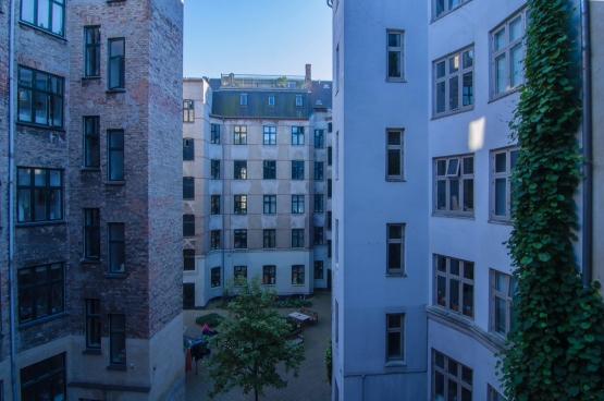 Apartementsgebouwen in Kopenhagen. Foto Frank / Flickr