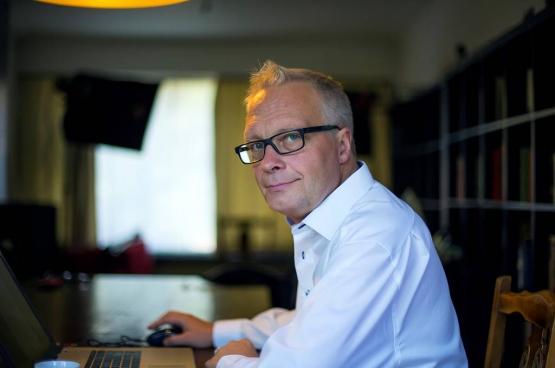 PVDA-voorzitter Peter Mertens. (Foto Solidair, Salim Hellalet)