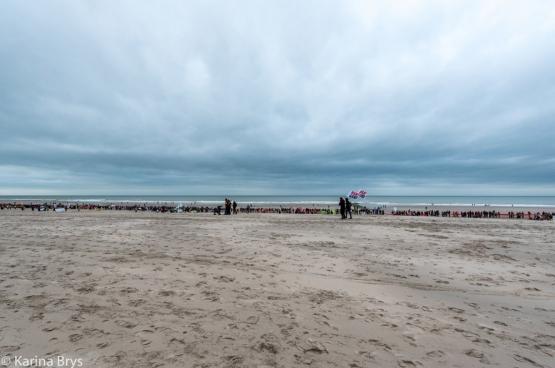 Klimaatmars Oostende, zondag 6 december 2015. (Foto Solidair, Karina Brys)