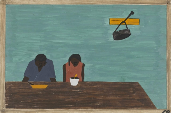 Jacob Lawrence: They were very poor (1940-41)
