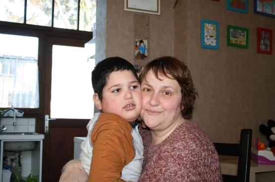 Sami en Simona (Foto Solidair, Maria McGavigan)