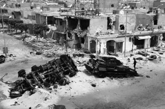 Oorlog in Libië. (Foto mojomogwai/Flickr)