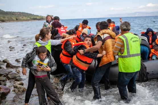 In januari arriveerden dagelijks 2.186 vluchtelingen op de kusten van Griekenland (Foto Cafod/Flickr)