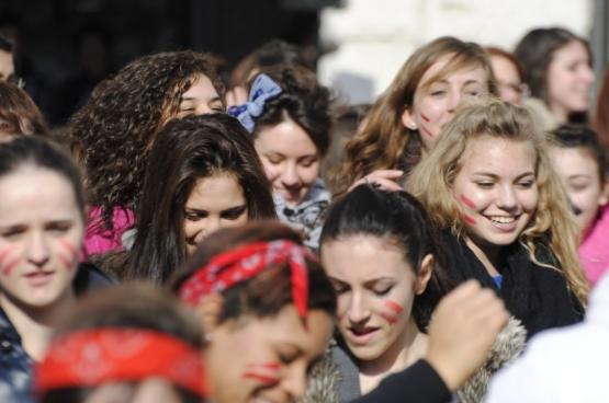One Billion Rising (Foto Belluno Più/Flickr)
