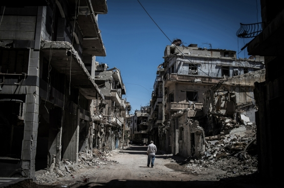 Homs, Syrië. (Foto pan_chaoyue / Flickr)