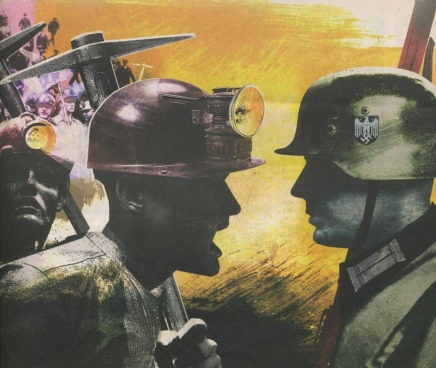 Illustratie van Jonathan McHugh, Les Journaux de Guerre 1940-1945
