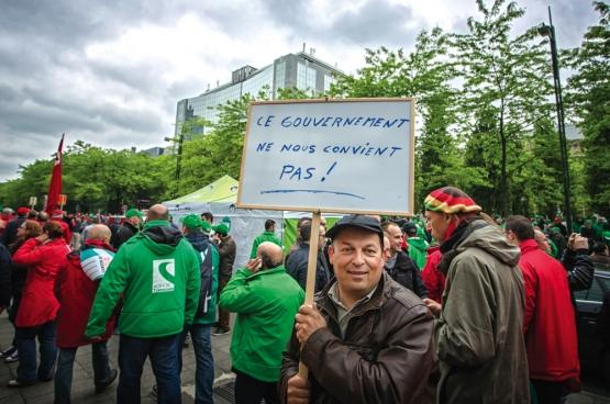 Brussel, 24 mei 2016. (Foto Solidair, Salim Hellalet)