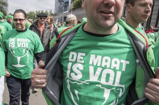 Brussel, 24 mei 2016. (Foto Solidair, han Soete)
