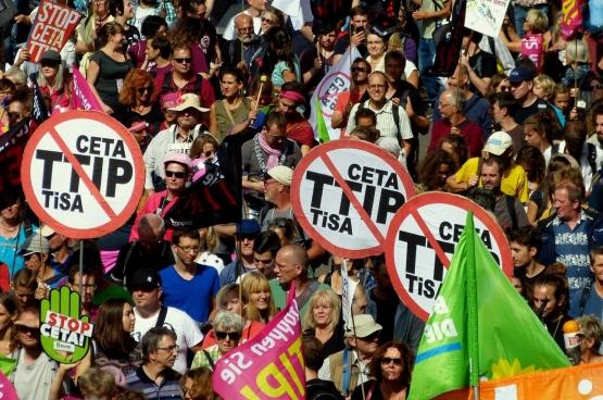 (Foto CETA und TTIP stoppen / Flickr)