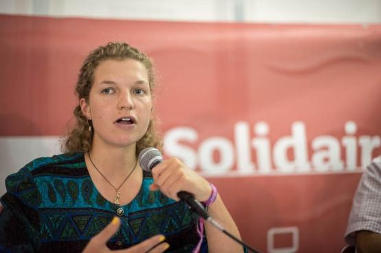 Madeleine Ellis-Petersen. (Foto Solidair, Karina Brys)