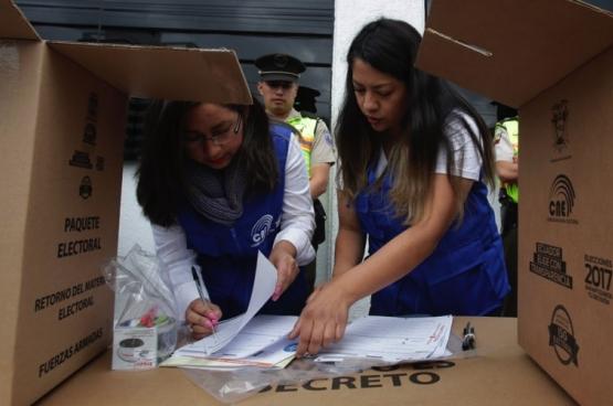 Verkiezingen in Ecuador (Foto Vistazo.com)