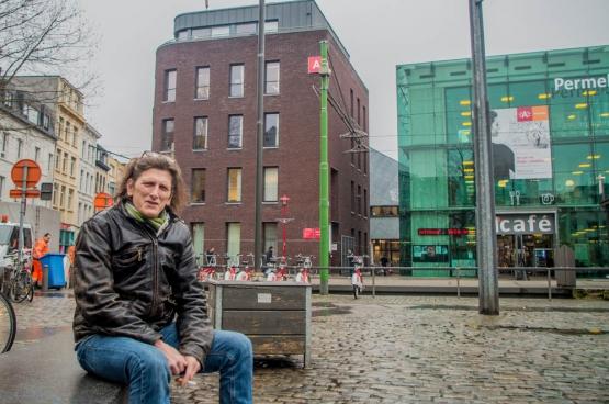 """Tonny Van Montfoort: """"Ik zou mensen willen vragen om open te staan en op te komen voor de zwakkeren. Daar horen ook mensen met een verslaving bij."""" (Foto Solidair, Mara De Belder)"""