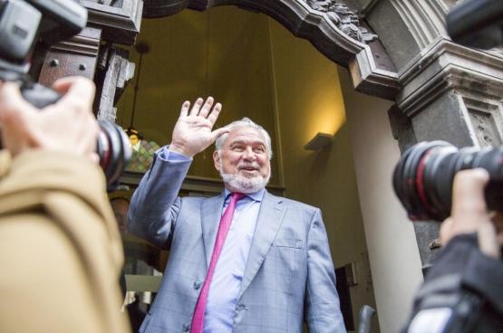Fernand Huts, een van die superrijken die de weg kennen naar belastingparadijzen. (Foto Solidair, Evy Menschaert)