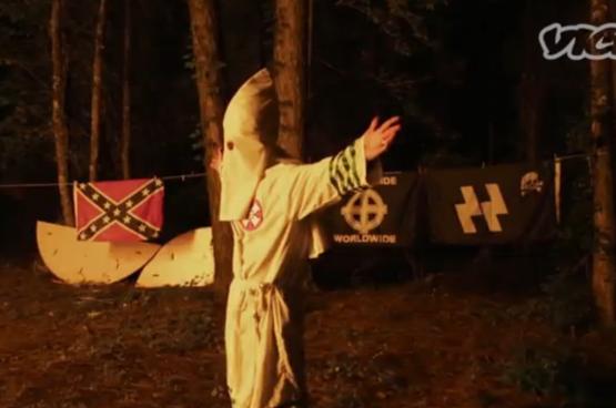 De verkiezing van Trump heeft de aanhangers van extreemrechts  (alt-right, neonazis, Ku-Klux-Klan ...) vleugels gegeven. (Foto Vice)