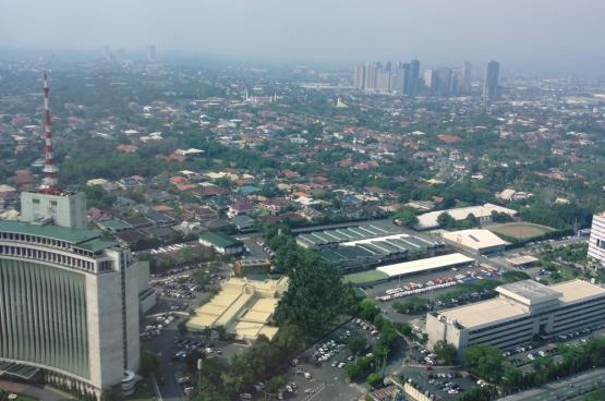 Quezon City in het noorden van de Filipijnse hoofdstad Manilla. (Foto Patrick Roque)