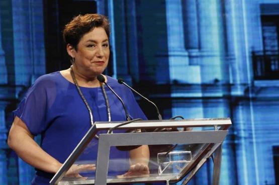 Beatriz Sanchez, de presidentskandidaat van het Frente Amplio (Foto Patricia Alarcón)