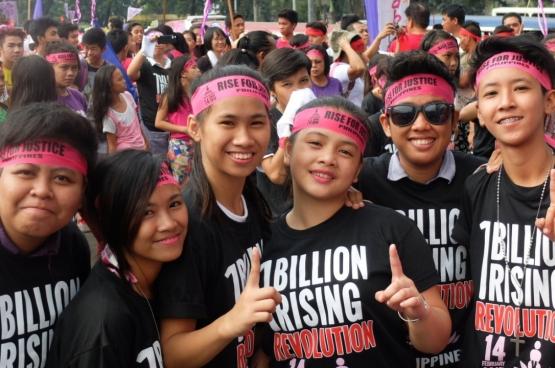 """""""Vandaag is het aan de Filipijnse vrouwen om op te komen tegen onderdrukking in alle vormen"""",  klinkt het bij de Filipijnse vrouwenbeweging Gabriela. (Foto Gabriella)"""