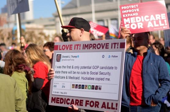 De Amerikaanse gezondheidszorg is door de verregaande privatisering en commercialisering een miljardenbusiness geworden. (Foto Tom Hilton / Flickr)
