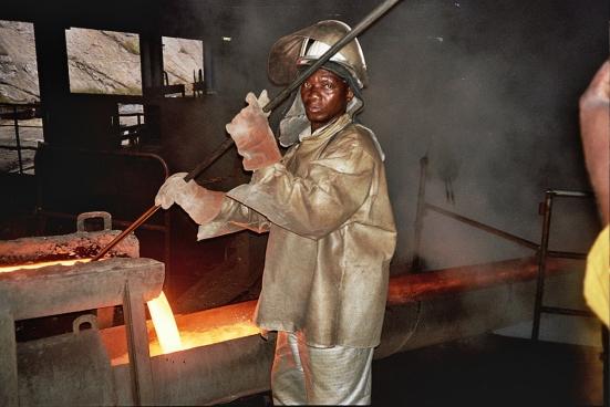 Het aandeel van de mijnsector in de Congolese economie is uitzonderlijk hoog. (Foto Raf Custers)