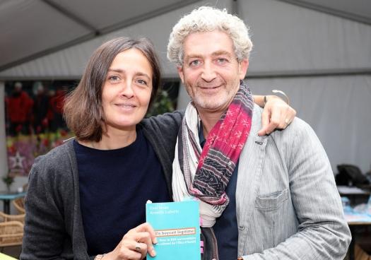 Eyal Sivan was op 8 september op ManiFiesta in Bredene. (Foto Solidair, Sophie Lerouge)