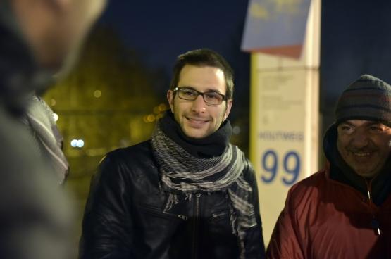 Michaël Verbauwhede. (Foto Solidair, Antonio Gomez Garcia)