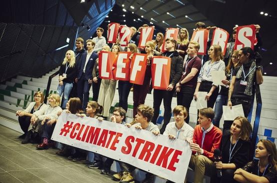 We hebben nog 12 jaar voor de klimaatontaarding volledig uit de hand loopt. (Foto Greenpeace Polen)