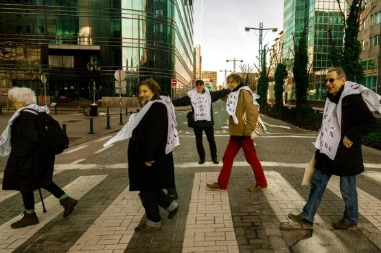 Foto Paul Lhoir, Gang des vieux en colère