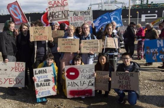 Mensenrechtenactivisten in Le Havre