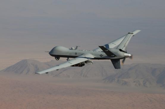 Autonome drones kiezen zelf hun doelwit voor ze dodelijk toeslaan (Foto, U.S. Air Force Photo)