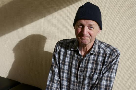 """""""Ik kan niet anders zeggen dan dat ik een rijk en boeiend leven heb gehad."""" (Foto Solidair, Dirk Tuypens)"""