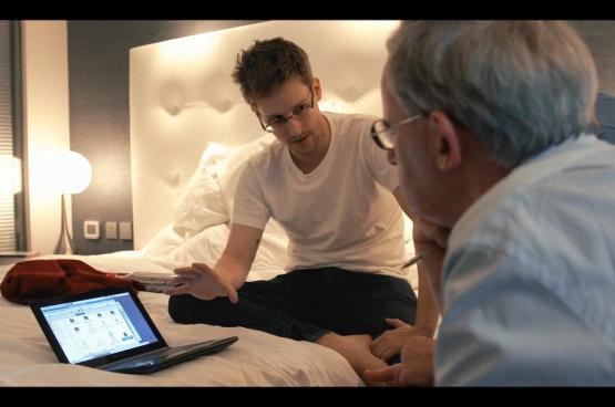 Klokkenluider Edward Snowden zet de Amerikaanse geheime dienst in haar blootje wanneer hij de omvang van grootschalige, vooral Amerikaanse en Britse, spionageactiviteiten onthult (Foto D.R.)