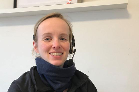 Heleen Aerts, huisarts bij Geneeskunde voor het Volk in Deurne.