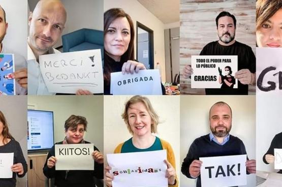 De Europese volksvertegenwoordigers van de GUE uiten hun solidariteit en dankbaarheid tegenover de dokters, verplegers, zorgverleners, schoonmakers, werknemers van de supermarkten, chauffeurs en tal van anderen die hun leven riskeren tijdens de coronacrisis.