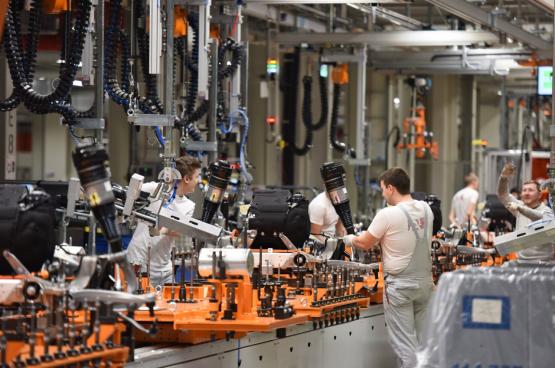 """Op 16 maart legden de arbeiders van Audi in Vorst het werk neer. """"We moesten het heft in eigen handen nemen."""""""