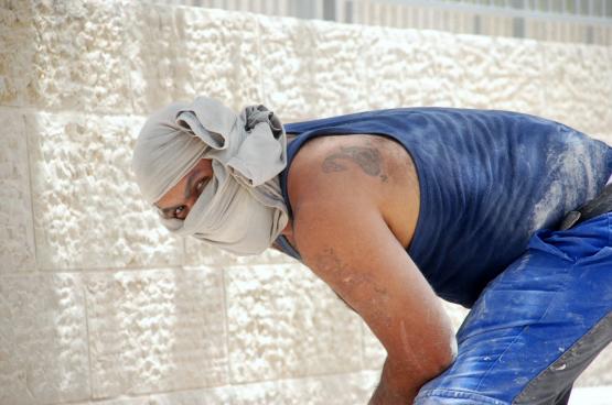 De Palestijnse werkkrachten zijn meestal tewerkgesteld in de landbouw, de industrie of de bouw (foto Shlomit Or, Flickr)