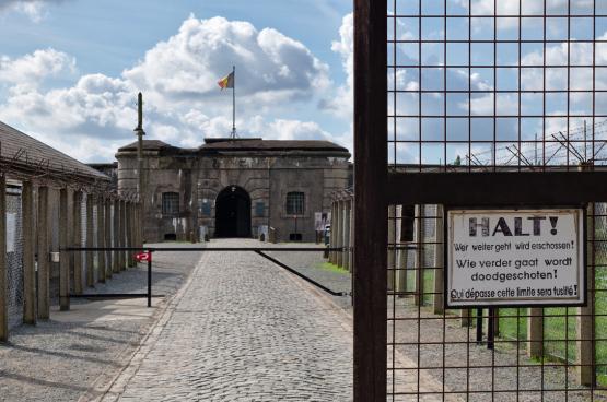De ingang van Breendonck Fort (Foto Benoit Brummer)