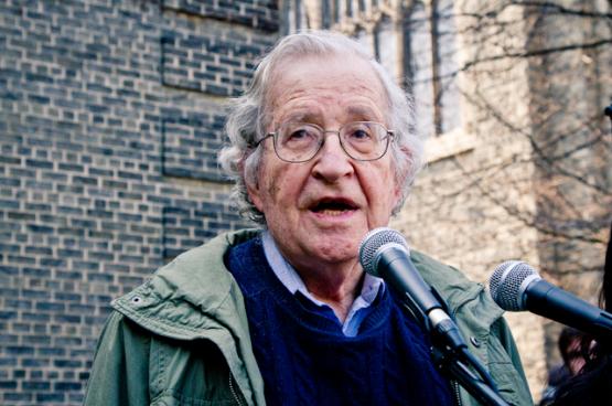 Noam Chomsky (Foto Andrew Rusk, Flickr)