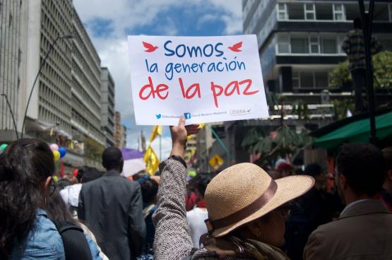 In 2016 werd een vredesakkoord ondertekend, maar geweld tegen oud-strijders, verdedigers van mensenrechten en inheemse volkeren blijft de grootste bedreiging voor de vrede in Colombia (Foto Agencia Prensa Rural, Flickr)
