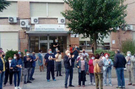 Nu de bewoners van de arme wijken van Madrid opnieuw worden gediscrimineerd, roept de Federatie van Buurtverenigingen van Madrid op tot mobilisatie. (Foto Quique Villalobos)
