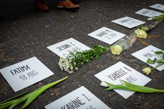 De pandemie gaat samen met een verborgen crisis van geweld tegen vrouwen en kinderen (Foto Jean-Philippe Wéry)