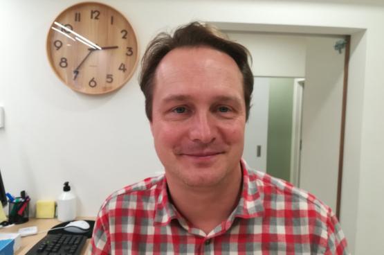 Stany Nimmegeers is coördinator van Geneeskunde voor het Volk in Genk.