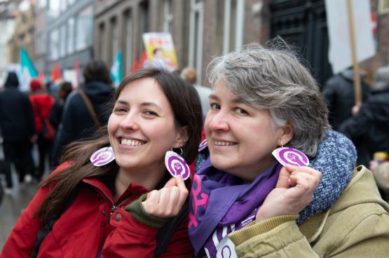 8 maart 2020 in Gent (Foto Solidair, Dieter Boone)