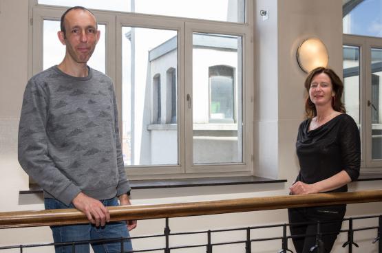 Sebbe Vandeputte en Angeline Van Den Rijse (Foto Solidair, Dieter Boone)