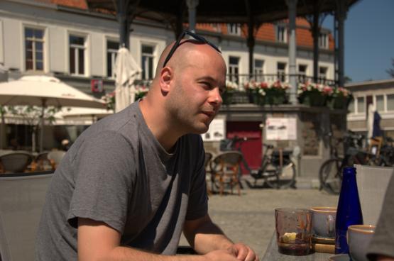 """Joao Filipe: """"Natuurlijk moeten we met Ryanair aan tafel zitten, maar niet zonder strijd. Of we vechten tegen hen of we zullen in hun val lopen."""" (Foto Solidair, Sander Claessens)"""