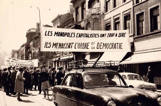 1 Mei 1961, Luik. (Foto CArCoB/Dacob)