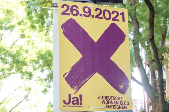 Op zondag 26 september haalde het ja-kamp een duidelijke meerderheid in het referendum voor publieke huisvesting.